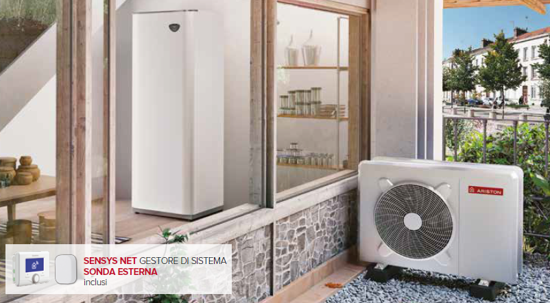 pompa di calore ariston nimbus compact